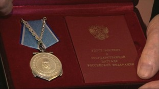 Gerry's Medal of Ushakov.
