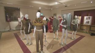 The exhibition is at Cumbria's Museum of Military Life.