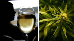 Alcohol 'hundreds of times more deadly than cannabis', study finds