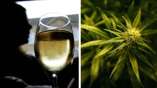 Cannabis is less deadly than alcohol, study suggests