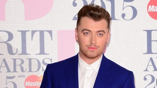 Sam Smith wins the Brits Global Success Award