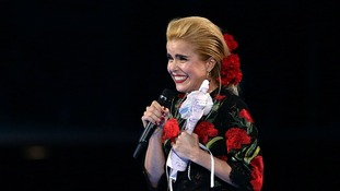 Paloma Faith has been named British Female Solo Artist.