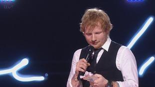 Ed Sheeran's X has been named Mastercard British Album of the Year.