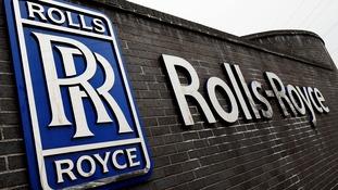 Rolls-Royce has a base in Derby