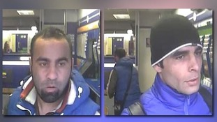 CCTV of two men