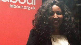 Amina Ali's was selected as the Labour candidate last weekend