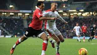 Bristol City fight for the ball