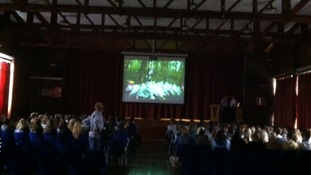 Pupils safety video warning of the dangers of driving for teenagers