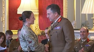 Soldier rewarded for challenging sexism in Afghanistan