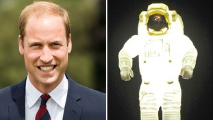Prince William revealed his childhood ambitions on a tour of Japan.