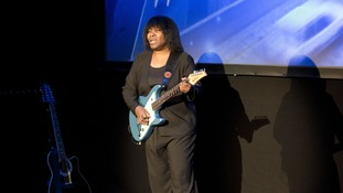 Joan Armatrading performing in Germany last month