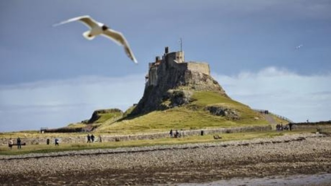 Image result for holy island castle