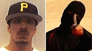 Then and now: Picture of Jihadi John leaked from student files