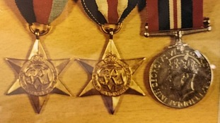 A picture of some of the medals