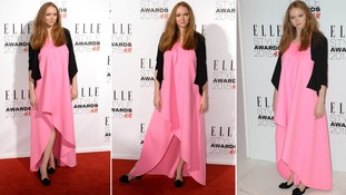 British model Lily Cole arrives at the Elle Style Awards in London in February.