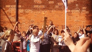 Andover torch relay