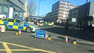 The collision happened at the junction between Camden Road and Royal College Street