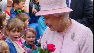 The Queen has been in the Midlands as part of her Diamond Jubilee tour.