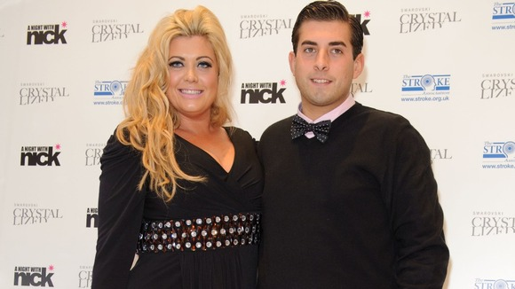 Gemma Collins with James Argent