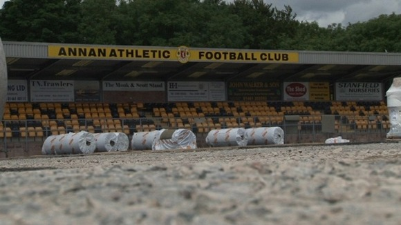 Annan Athletic&#x27;s ground