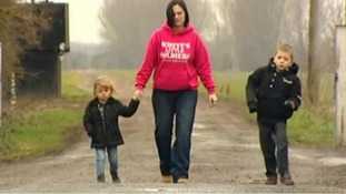 Nikki Scott and her children