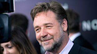 Leeds United fans approach Russell Crowe over club ownership