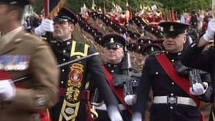 Yorkshire Regiment homecoming