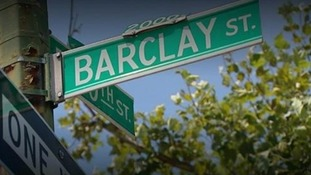 A Barclay street sign in Baltimore
