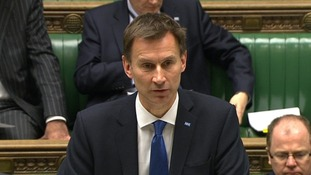 Health Secretary Jeremy Hunt.