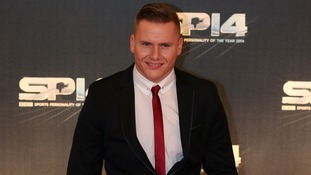 David Weir at the Sports Personality of the Year Awards last year