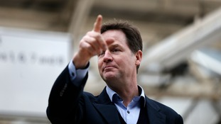 Nick Clegg will pledge a Lib Dem overhaul of drug laws.