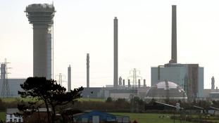 Sellafield nuclear site in Seascale, Cumbria.