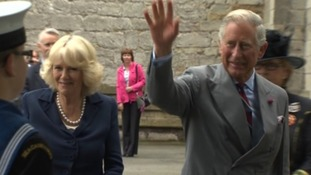 Duchess of Cornwall and Prince of Wales