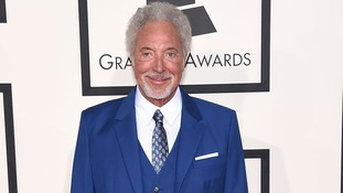 Sir Tom Jones at the Grammy Awards in February