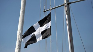 Saint Piran's Flag