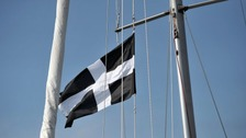 Saint Piran's Flag