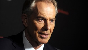 Former Labour leader Tony Blair.