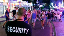 Police will have powers to seize drinks from tourists on the street.