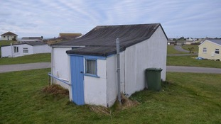 The St Ives beach hut which was bought for £10