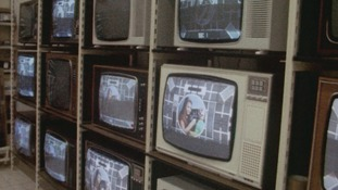 TVs and the test card