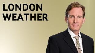 London Tonight weather presenter Robin McCallum.