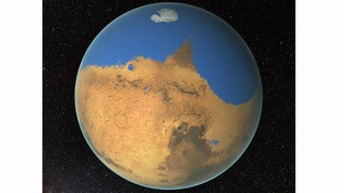 Ancient Martian ocean held more water than Earth's Arctic Ocean