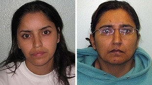 Mother and lesbian lover jailed over girl's death