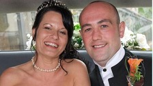 Steven Rollet and his wife Nicola