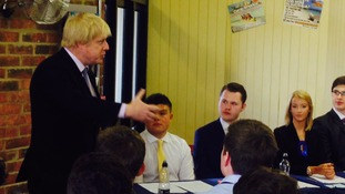 Boris Johnson on Teesside