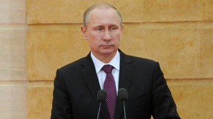 President Putin will reportedly see his wages slashes by a tenth.