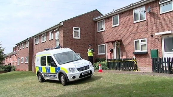 Police investigation outside Mr Varga's home last year