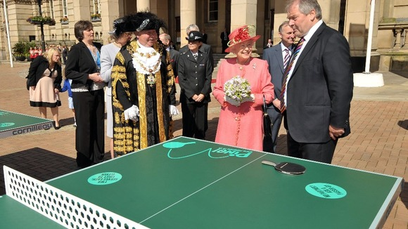 The Queen and the Mayor of Birmingham