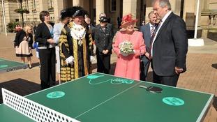 The Queen and the Mayor of Birmingham
