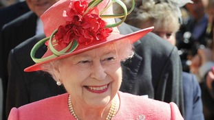 The Queen on her Diamond Jubilee Tour in Birmingham